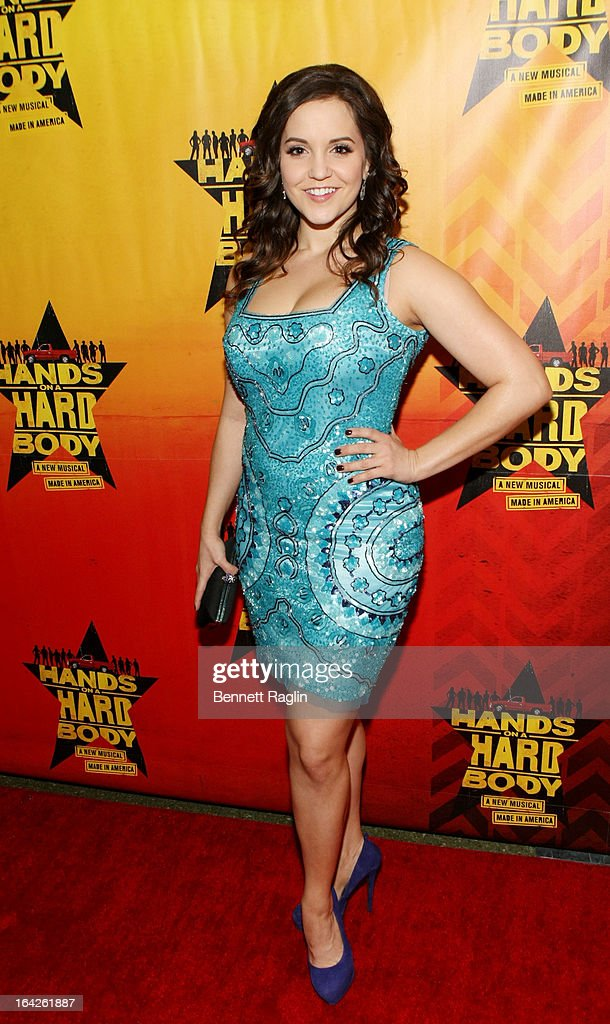 Connie Ray attends 'Hands On A Hard Body' Broadway opening night after party at Roseland Ballroom on March 21, 2013 in New York City.