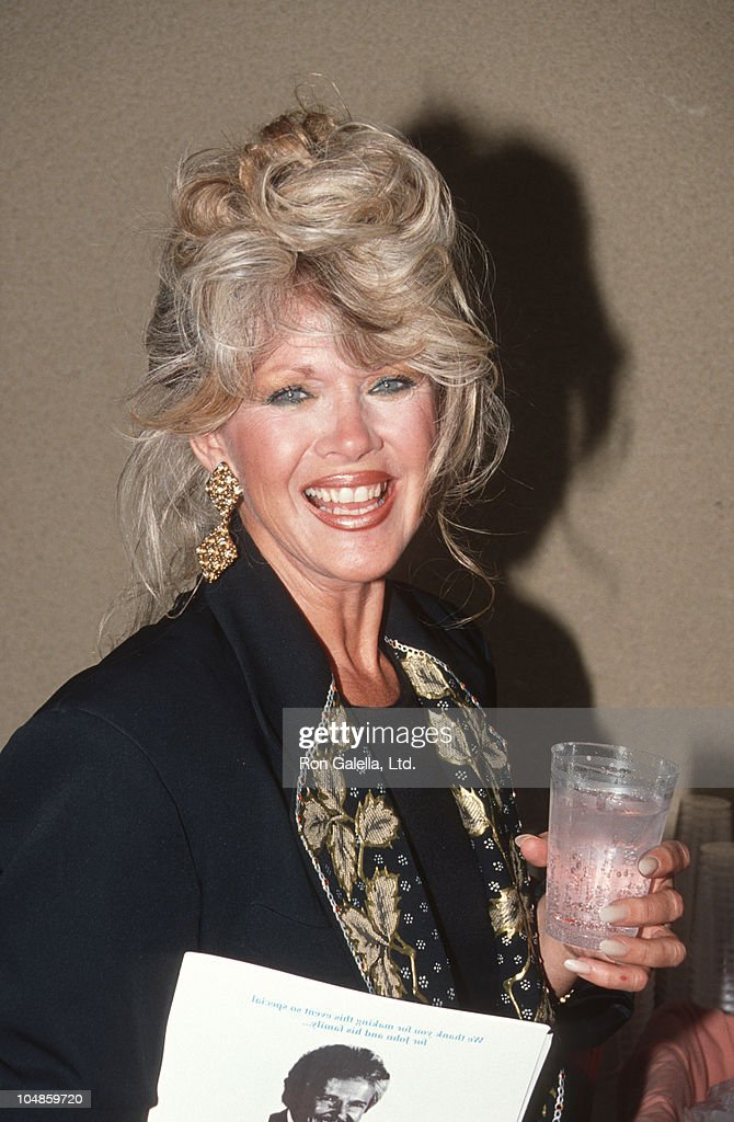 Connie Stevens during Benefit Fundraiser for John Gary at Bel Age Hotel in West Hollywood, California, United States.