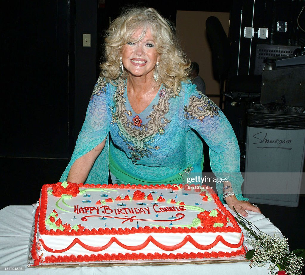 <a gi-track='captionPersonalityLinkClicked' href=/galleries/search?phrase=Connie+Stevens&family=editorial&specificpeople=217812 ng-click='$event.stopPropagation()'>Connie Stevens</a> during <a gi-track='captionPersonalityLinkClicked' href=/galleries/search?phrase=Connie+Stevens&family=editorial&specificpeople=217812 ng-click='$event.stopPropagation()'>Connie Stevens</a> Birthday Celebration with 'The Thunder From Down Under' at The Showroom at the Suncoast Hotel in Las Vegas, Nevada, United States.