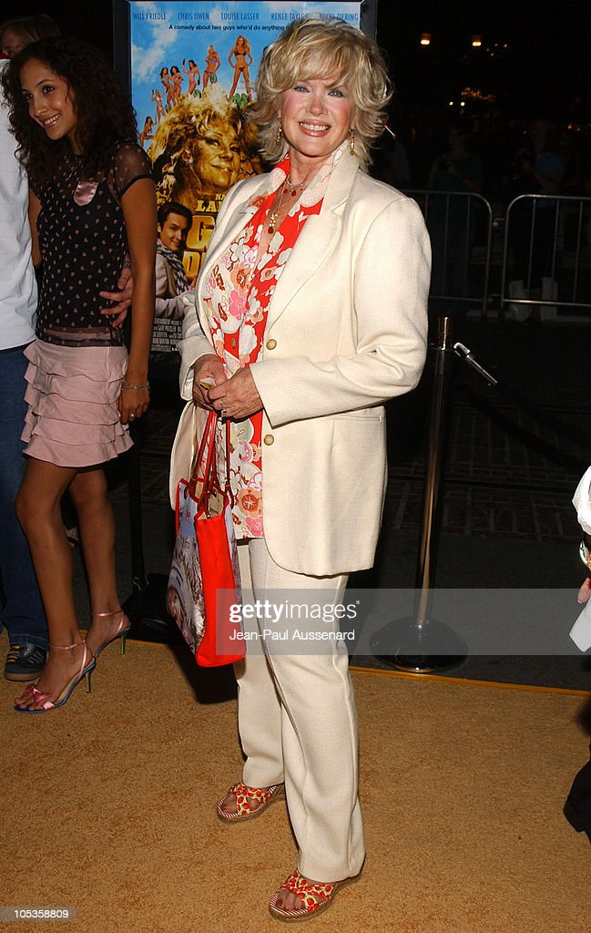 <a gi-track='captionPersonalityLinkClicked' href=/galleries/search?phrase=Connie+Stevens&family=editorial&specificpeople=217812 ng-click='$event.stopPropagation()'>Connie Stevens</a> during 'National Lampoon's Gold Diggers' Premiere - Arrivals at The Grove Stadium 14 in Los Angeles, California, United States.