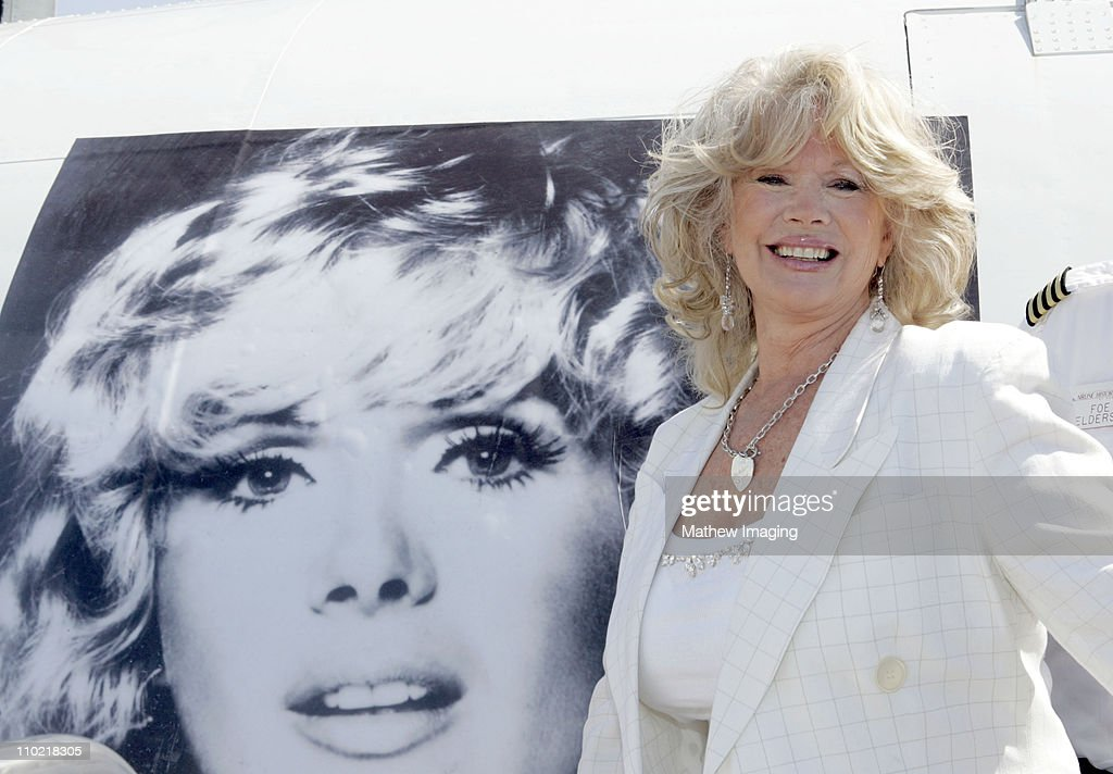<a gi-track='captionPersonalityLinkClicked' href=/galleries/search?phrase=Connie+Stevens&family=editorial&specificpeople=217812 ng-click='$event.stopPropagation()'>Connie Stevens</a> poses with a Special Painted Lockheed Constellation picturing herself and nicknamed 'The Connie'