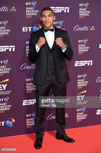 Connor Benn attends the BT Sport Industry Awards at Battersea Evolution on April 27 2017 in London England