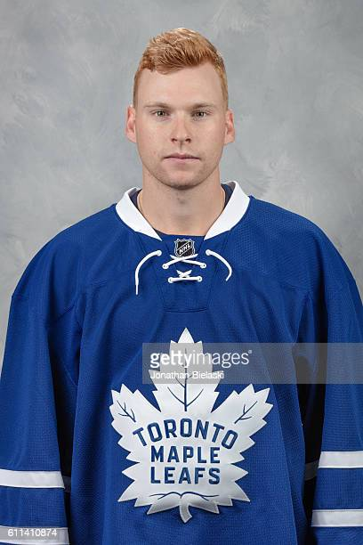 Connor Brown of the Toronto Maple Leafs poses for his official headshot for the 20162017 season on September 22 2016 at the MasterCard Centre Toronto...