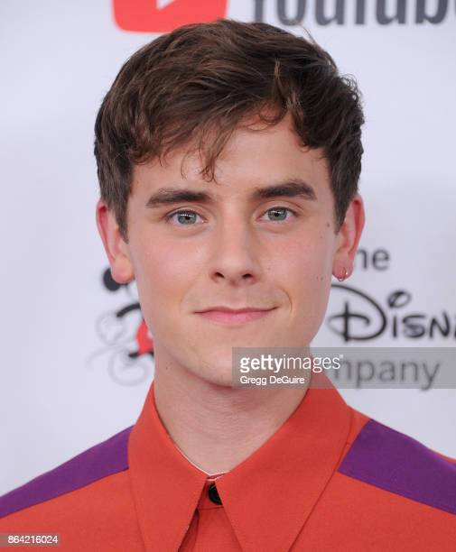 Connor Franta arrives at the 2017 GLSEN Respect Awards at the Beverly Wilshire Four Seasons Hotel on October 20 2017 in Beverly Hills California