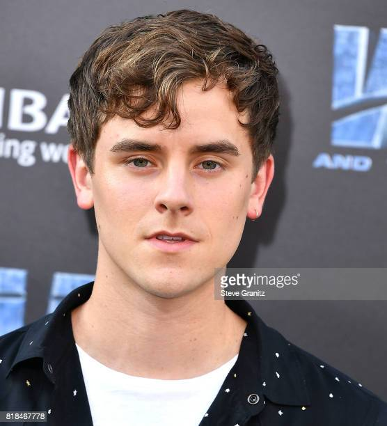 Connor Franta arrives at the Premiere Of EuropaCorp And STX Entertainment's 'Valerian And The City Of A Thousand Planets' at TCL Chinese Theatre on...