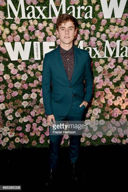 Connor Franta at Max Mara Celebrates Zoey Deutch The 2017 Women In Film Max Mara Face of the Future at Chateau Marmont on June 12 2017 in Los Angeles...