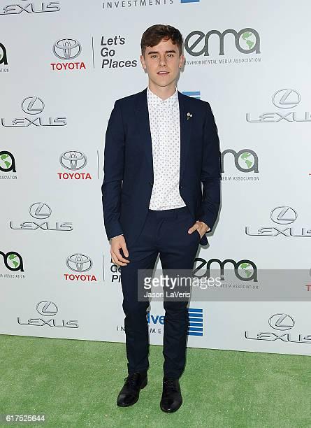 Connor Franta attends the 26th annual EMA Awards at Warner Bros Studios on October 22 2016 in Burbank California