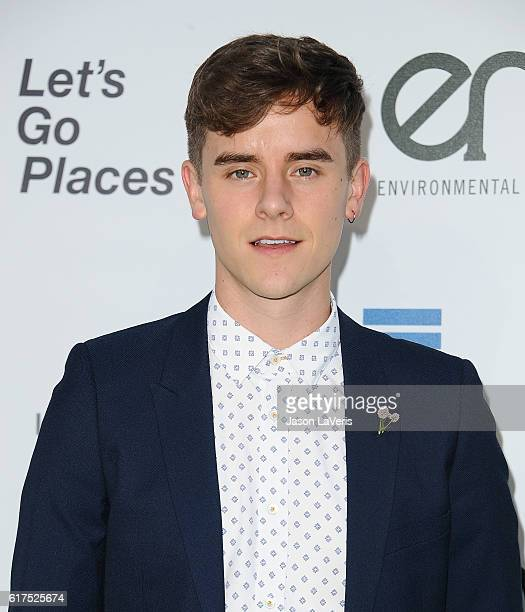 Connor Franta attends the 26th annual EMA Awards at Warner Bros Studios on October 22 2016 in Burbank California