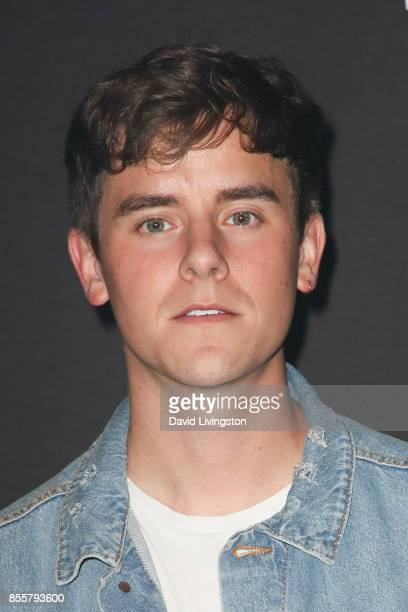 Connor Franta attends the Knott's Scary Farm and Instagram's Celebrity Night at Knott's Berry Farm on September 29 2017 in Buena Park California