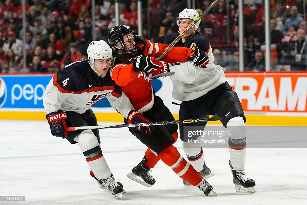 United States v Canada - 2015 IIHF World Junior Championship