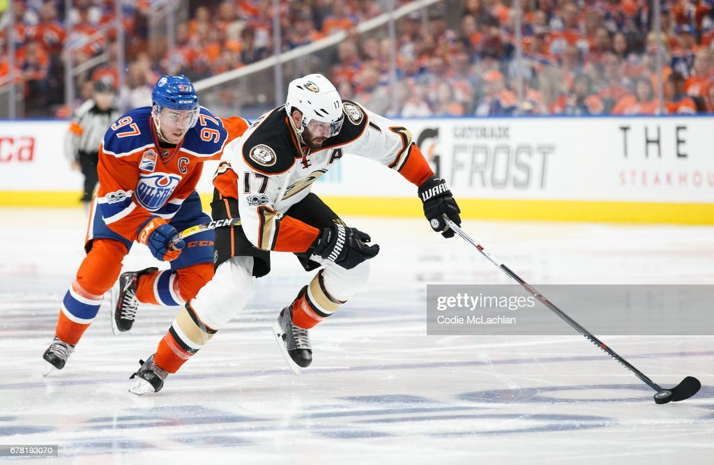 Anaheim Ducks v Edmonton Oilers - Game Four