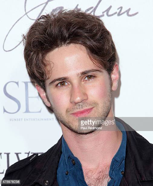Connor Paolo arrives at Sunset Entertainment Group hosts Grand Opening of outdoor lounge Le Jardin at Le Jardin on June 4 2015 in Hollywood California