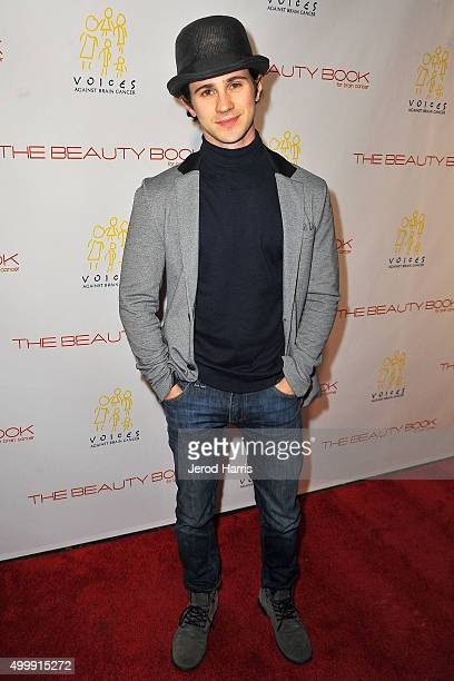 Connor Paolo arrives at 'The Beauty Book For Brain Cancer' edition 2 launch party at Le Jardin on December 3 2015 in Hollywood California