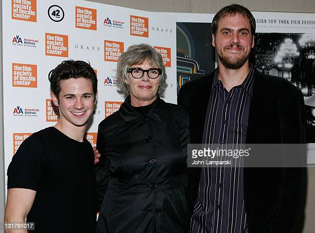 Connor Paolo Kelly McGillis and Jim Mickle attend the 'Stake Land' premiere at The Film Society of Lincoln Center on October 27 2010 in New York City