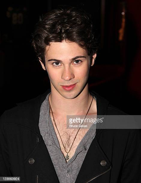 Connor Paolo visits Planet Hollywood Times Square on April 12 2011 in New York City