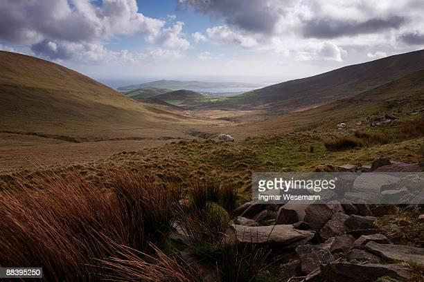 Connor pass, dingle peninsula, ireland