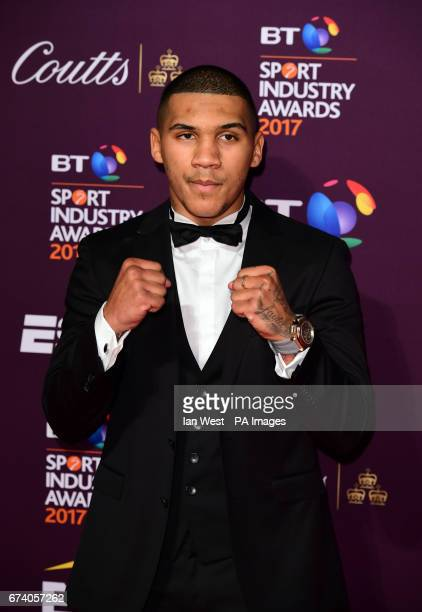 Conor Benn attending the BT Sport Industry Awards 2017 held at Battersea Evolution in Battersea Park London PRESS ASSOCIATION Photo Picture date...