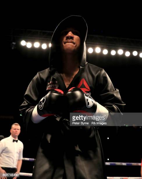 Conor Benn prior to his Welterweight contest at Manchester Arena