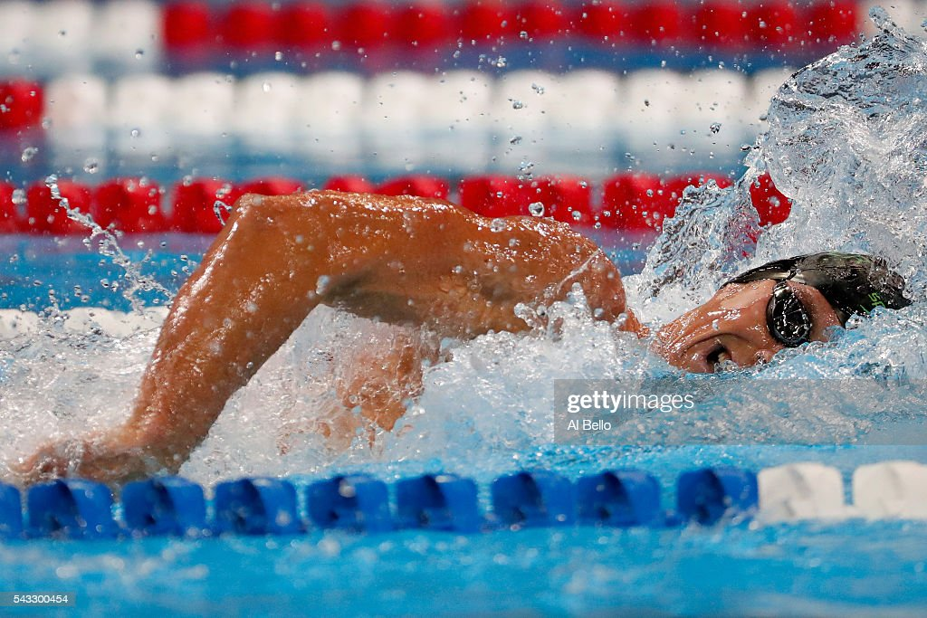 <a gi-track='captionPersonalityLinkClicked' href=/galleries/search?phrase=Conor+Dwyer&family=editorial&specificpeople=7988001 ng-click='$event.stopPropagation()'>Conor Dwyer</a> of the United States competes in a heat for the Men's 200 Meter Freestyle during Day Two of the 2016 U.S. Olympic Team Swimming Trials at CenturyLink Center on June 27, 2016 in Omaha, Nebraska.