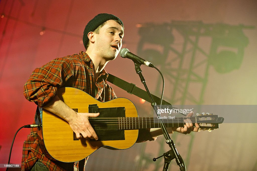 Conor J. O'Brien of Villagers performs as part of Mencap's Little Noise Sessions at St John-At-Hackney on November 24, 2012 in London, England.