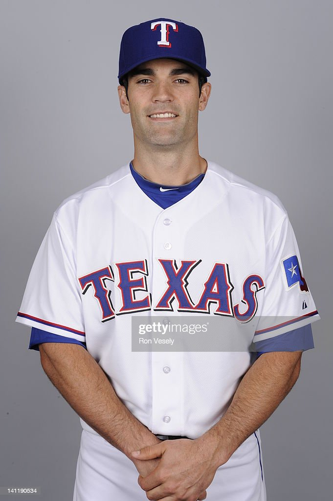 <a gi-track='captionPersonalityLinkClicked' href=/galleries/search?phrase=Conor+Jackson&family=editorial&specificpeople=593147 ng-click='$event.stopPropagation()'>Conor Jackson</a> #28 of the Texas Rangers poses during Photo Day on Tuesday, February 28, 2012 at Surprise Stadium in Surprise, Arizona.
