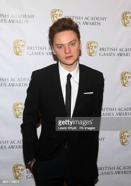 Conor Maynard attending the British Academy Video Games Awards at the London Hilton Park Lane London