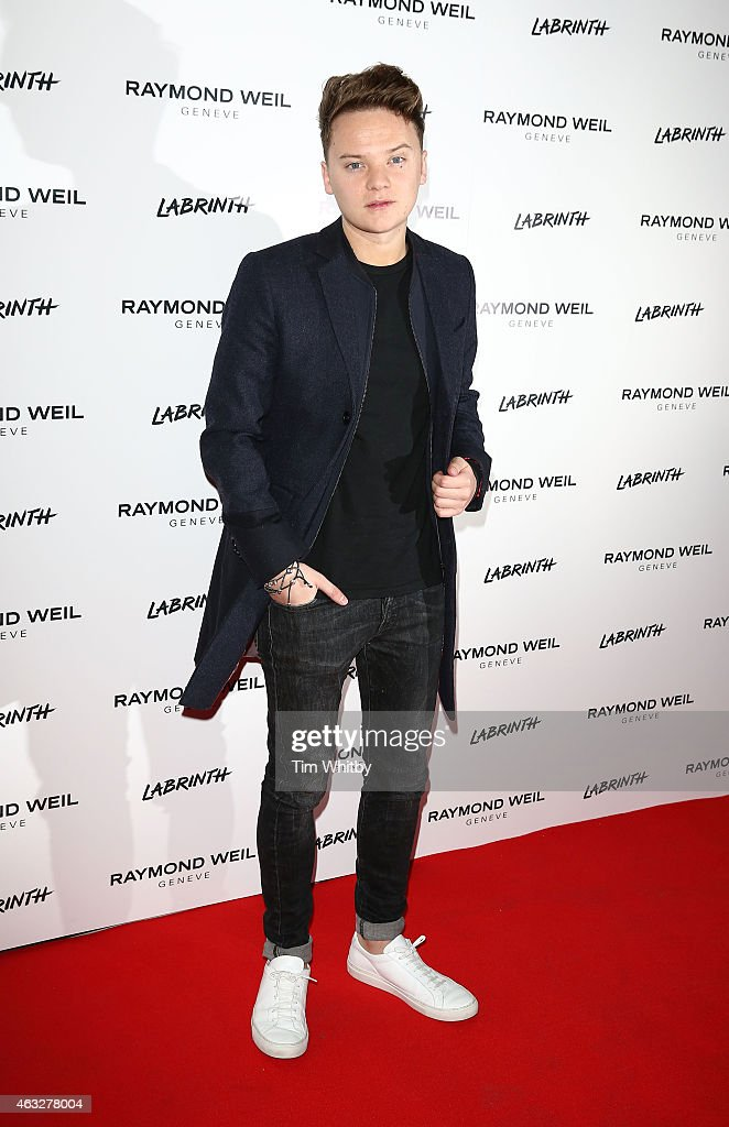 Conor Maynard attends as Labrinth hosts Raymond Weil PreBRIT Awards dinner at The Mosaica on February 12 2015 in London England