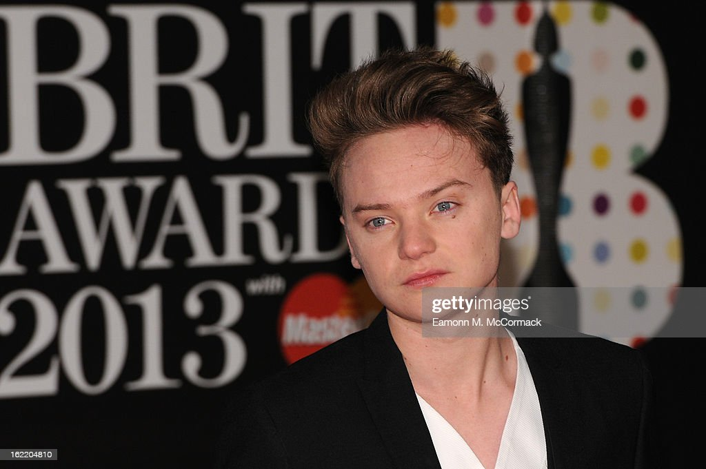Conor Maynard attends the Brit Awards 2013 at the 02 Arena on February 20 2013 in London England