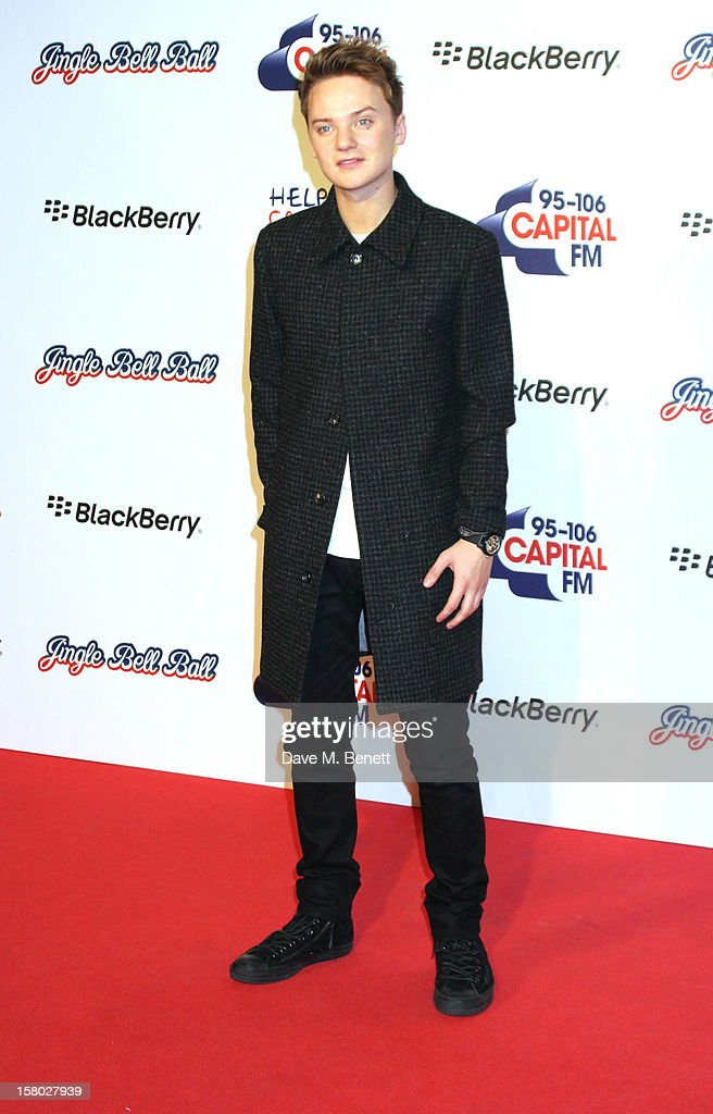 Conor Maynard attends the Capital FM Jingle Bell Ball at 02 Arena on December 9, 2012 in London, England.