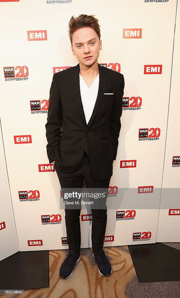<a gi-track='captionPersonalityLinkClicked' href=/galleries/search?phrase=Conor+Maynard&family=editorial&specificpeople=8899313 ng-click='$event.stopPropagation()'>Conor Maynard</a> attends the EMI & War Child Brits Aftershow Party at 02 Arena on February 20, 2013 in London, England.
