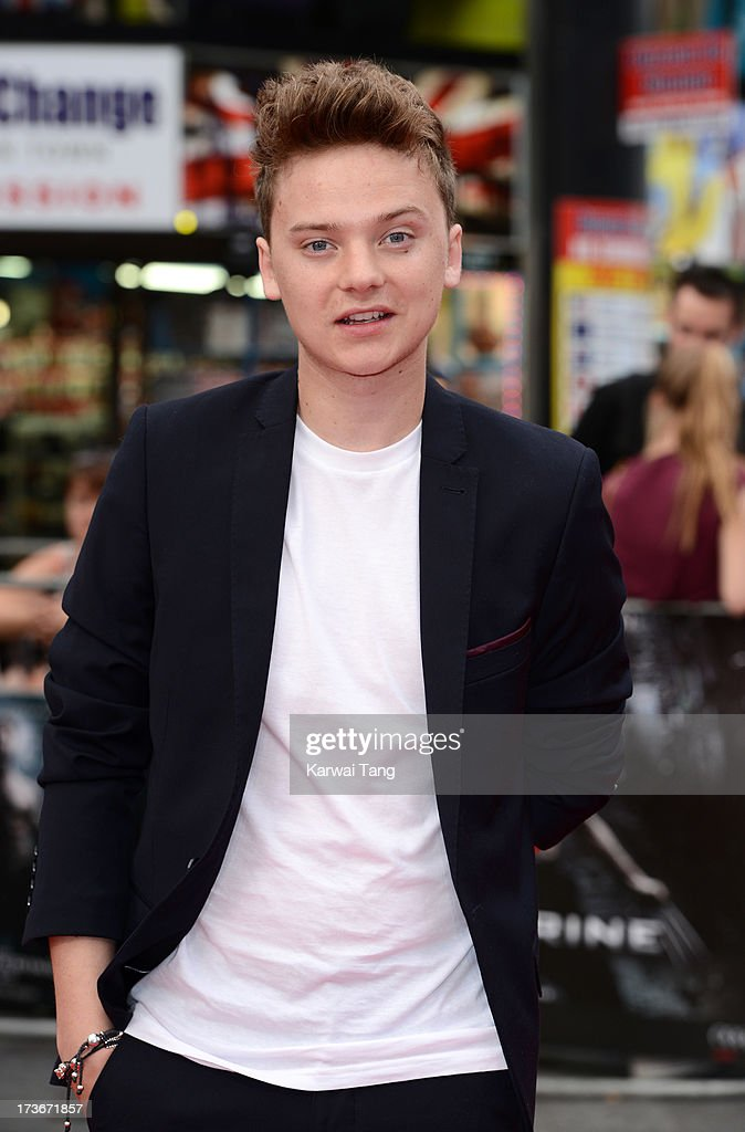 Conor Maynard attends the UK premiere of 'The Wolverine' at Empire Leicester Square on July 16, 2013 in London, England.