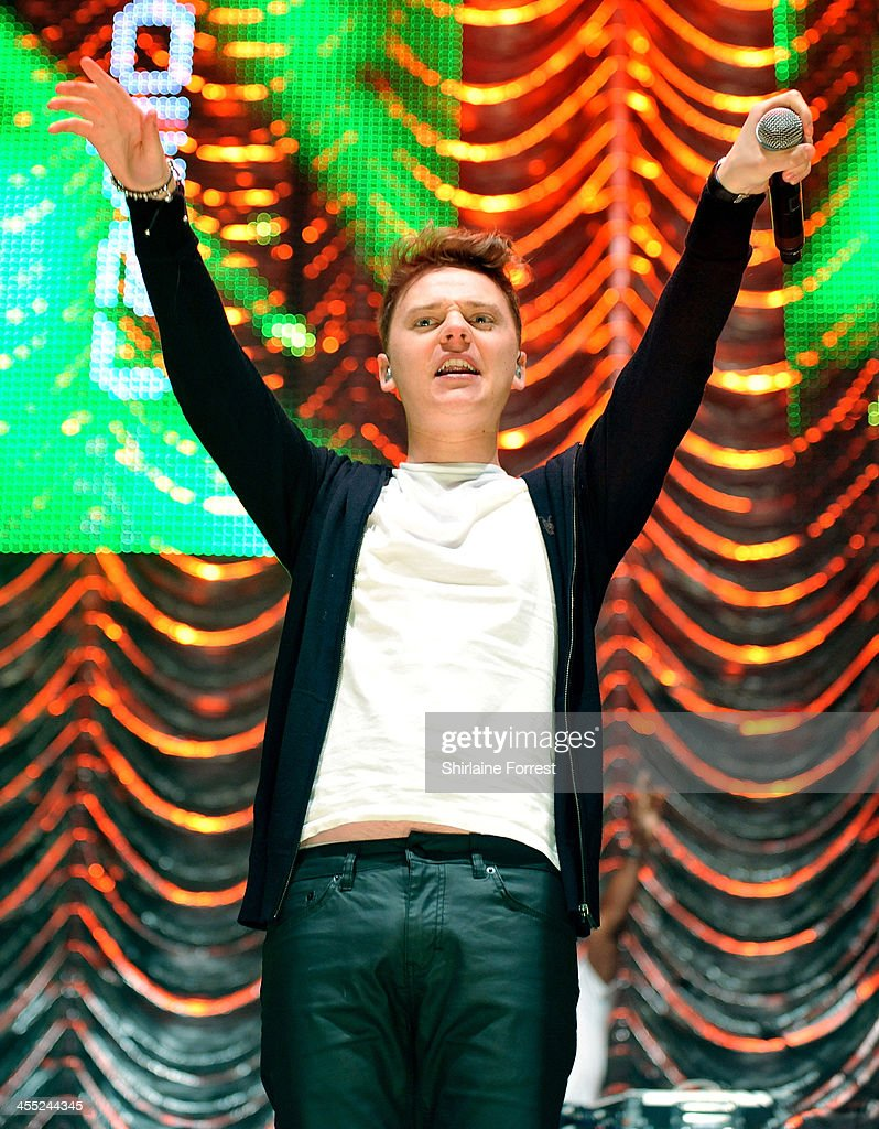 Conor Maynard performs at Radio City Live at Echo Arena on December 11 2013 in Liverpool England