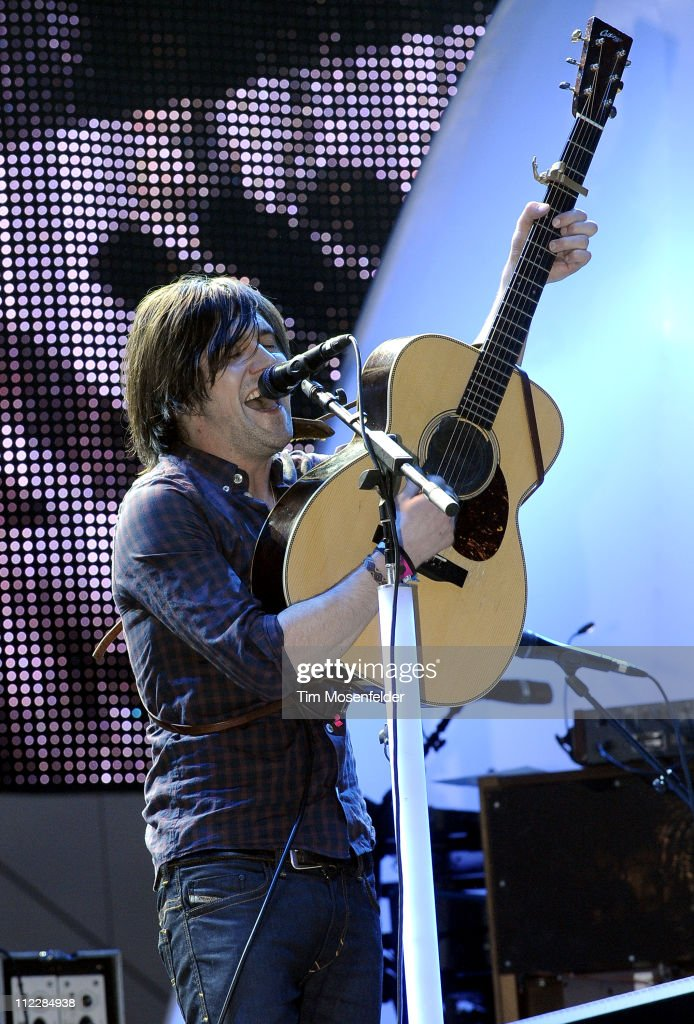 Conor Oberst of Bright Eyes performs as part of the 2011 Coachella Valley Music & Arts Festival at the Empire Polo Field on April 16, 2011 in Indio, California.
