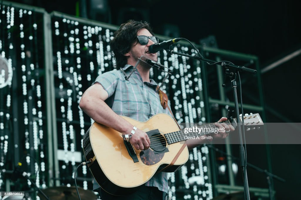 Conor Oberst performs during the 2017 Sloss Music and Arts Festival at Sloss Furnaces on July 15, 2017 in Birmingham, Alabama