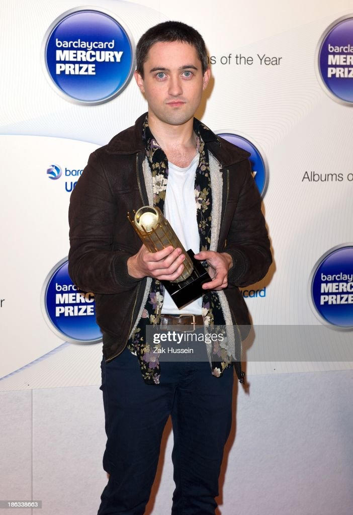 Conor O'Brien of Villagers attends the Barclaycard Mercury Prize at The Roundhouse on October 30, 2013 in London, England.