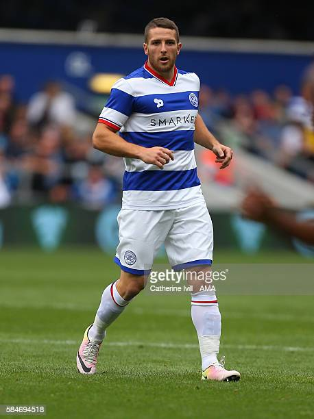 Conor Washington of QPR during the PreSeason Friendly match between Queens Park Rangers and Watford at Loftus Road on July 30 2016 in London England