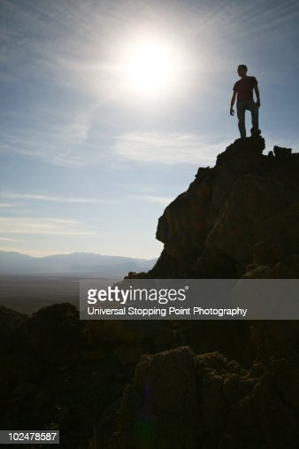 Conquering Death (Valley) : Foto de stock