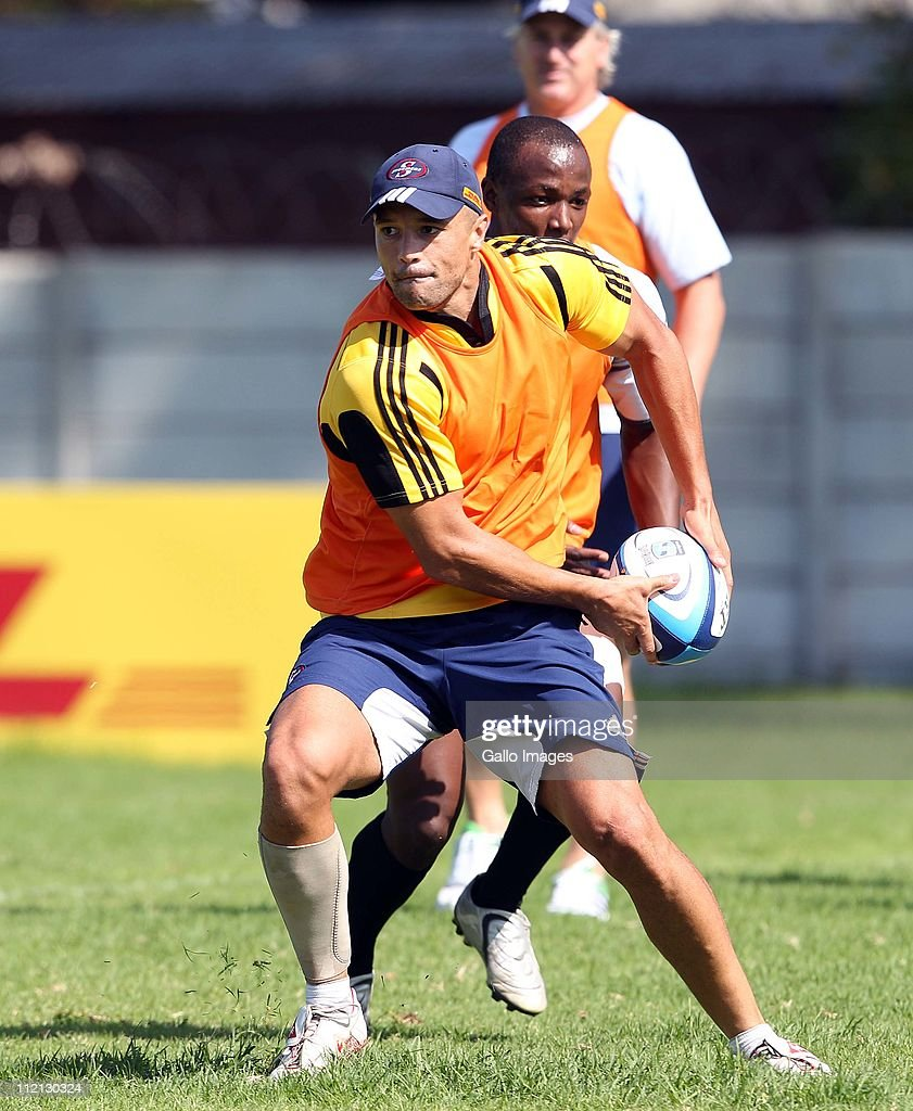 Super Rugby Rd 9 - Stormers Training Session