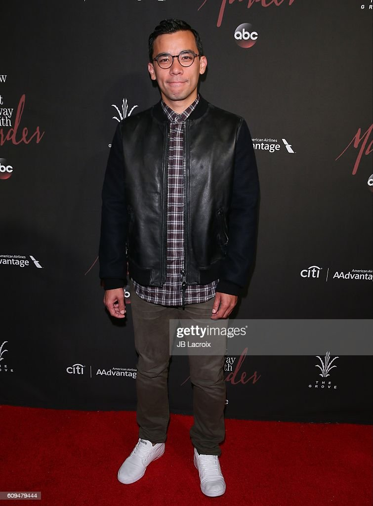 Premiere of abcs conrad ricamora attends the premiere of abcs how to get away with murder season ccuart Image collections