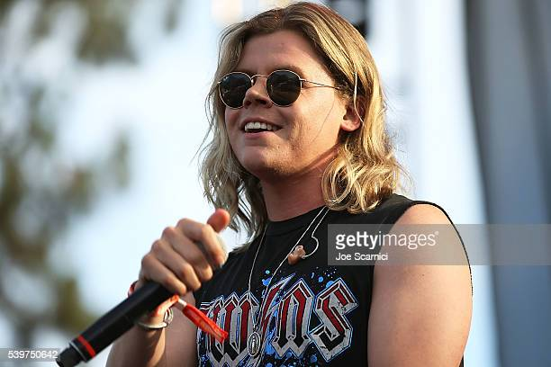Conrad Sewell performs at LA PRIDE Music Festival And Parade 2016 on June 10 2016 in West Hollywood California