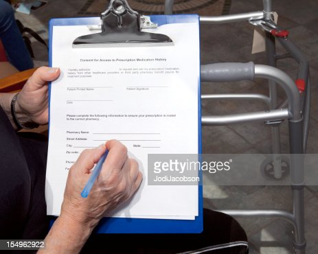 consent for access to prescription medication form