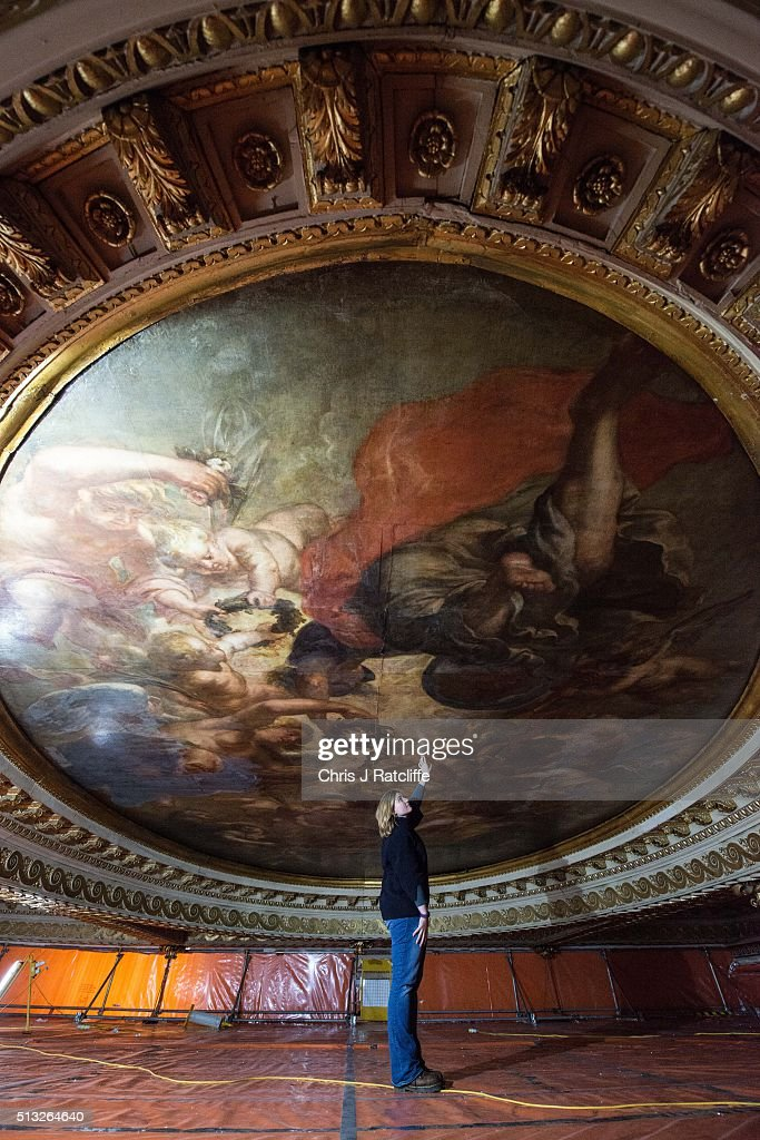 Renovations begin at the banqueting house in whitehall Rules for painting ceilings