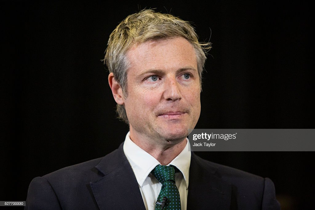 Conservative candidate for Mayor of London, <a gi-track='captionPersonalityLinkClicked' href=/galleries/search?phrase=Zac+Goldsmith&family=editorial&specificpeople=161321 ng-click='$event.stopPropagation()'>Zac Goldsmith</a> attends a mayoral campaign rally at Grey Court School in Richmond on May 3, 2016 in London, England. The Prime Minister joined the Conservative Mayoral candidate at Grey Court School on the penultimate day of campaigning. Former pupils of the school include London's Cycling Commissioner, Andrew Gilligan. Londoners go to the polls on Thursday 5th May with the declaration expected later on Friday 6th. The current Mayor of London is the Conservative MP for Henley, Boris Johnson.