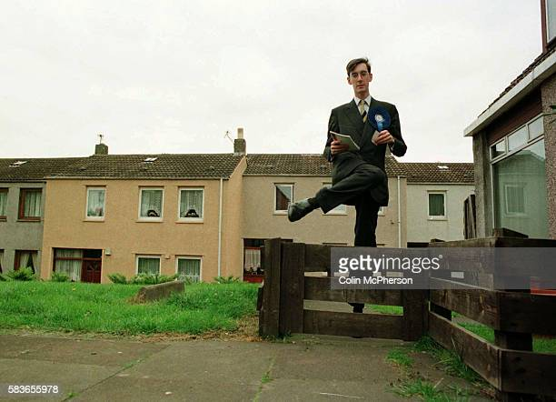 Conservative candidate Jacob ReesMogg canvasses in a solid Labour of Fife Central seat during the General Election The son of William ReesMogg this...