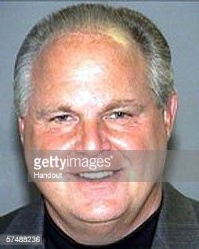 Conservative commentator Rush Limbaugh is shown in this handout mugshot photo supplied by the Palm Beach County Sheriff's Office April 28 2006 in...