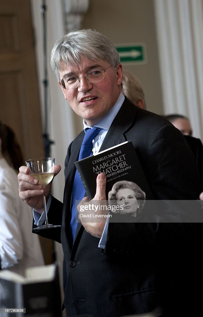 Conservative MP Andrew Mitchell attends the launch of 'Margaret Thatcher - The Authorised Biography, Volume One: Not for Turning' by Charles Moore at Banqueting House on April 23, 2013 in London, England.