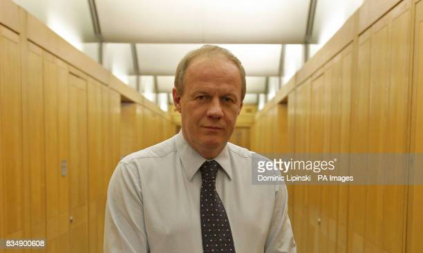 Conservative MP Damian Green pictured at his office in Portcullis House The Tory frontbencher was arrested last night and questioned over leaked...