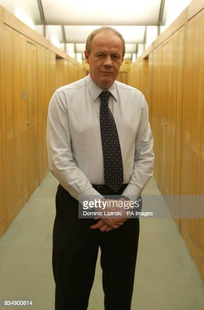Conservative MP Damian Green pictured outside his office in Portcullis House The Tory frontbencher was arrested last night and questioned over leaked...