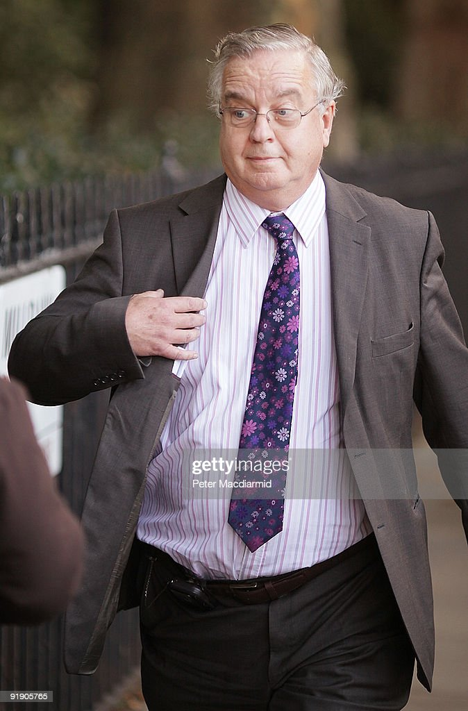 Conservative MP David Wilshire walks to Parliament on October 15, 2009 in London, England. The Conservative MP for Spelthorne has faced criticism for using his Parliamentary expenses to pay his own company.