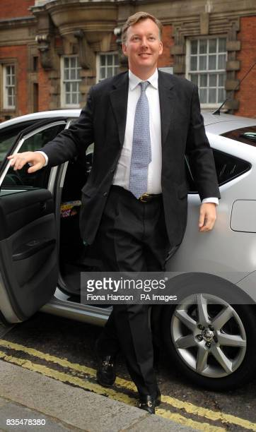 Conservative MP for Leominster Bill Wiggin arrives at Millbank Studios in London to give interviews regarding his expense claims for a mortgage